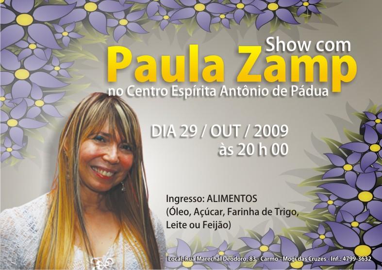 Show com Paula Zamp no CEAP
